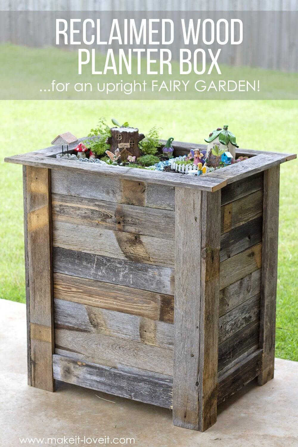 Diy Reclaimed Wood Projects Ideas Designs 2018