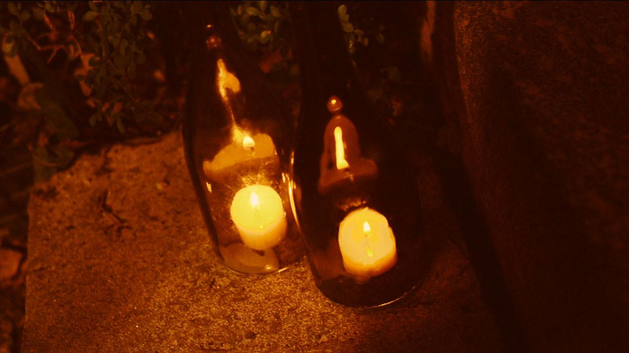 Diy Recycled Glass Bottle Outdoor Lighting Buildipedia