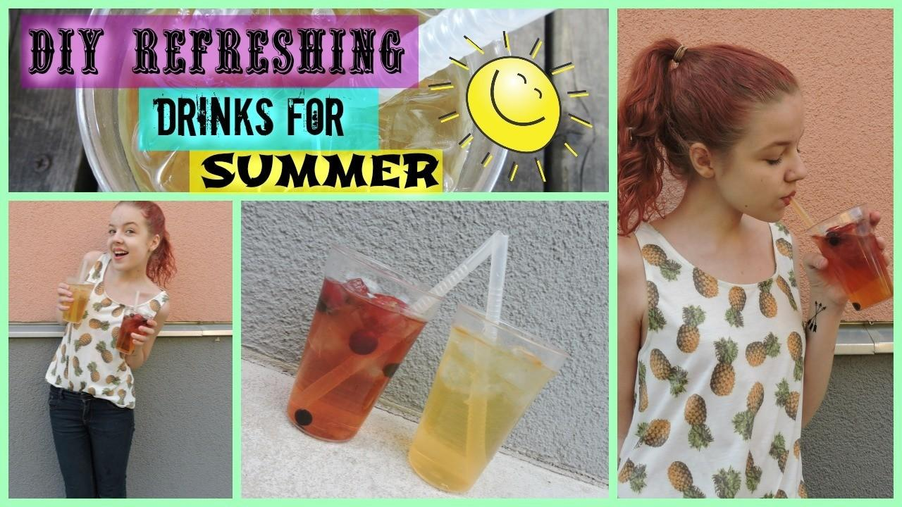 Diy Refreshing Drinks Summer All