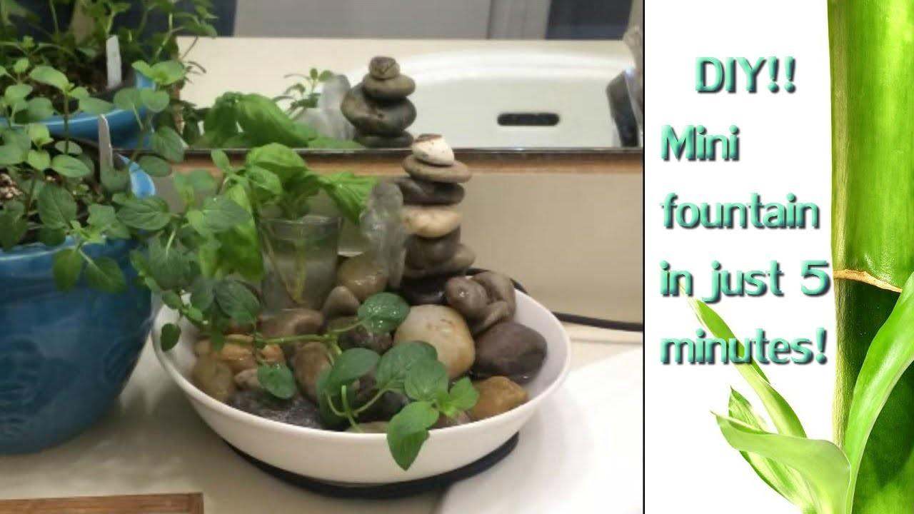 Diy Relaxing Fountain Yes Please