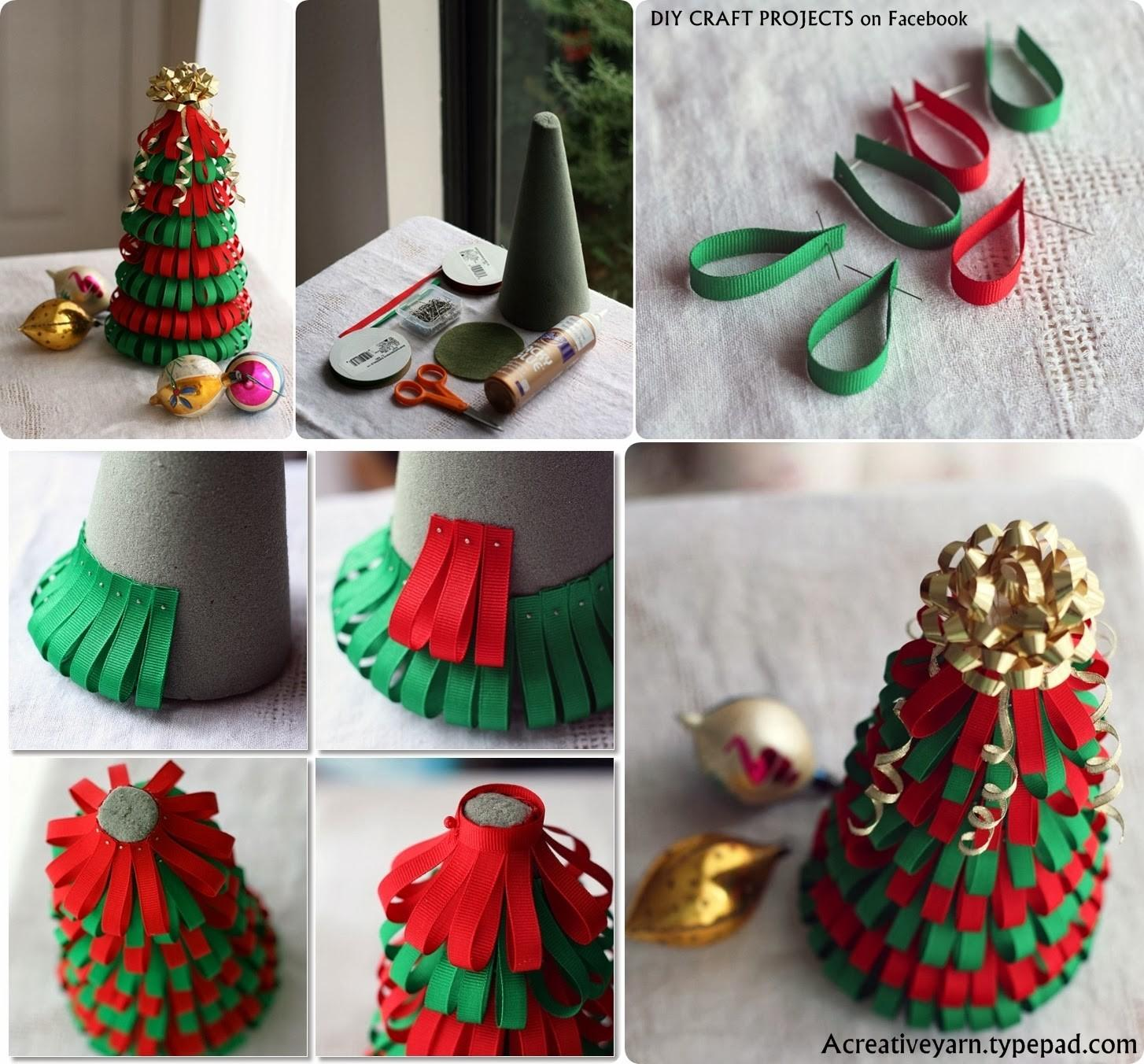 Most Beautiful Christmas Ribbon Diys