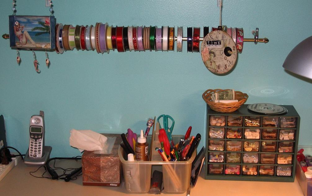 Diy Ribbon Organizers Can Make Yourself Plus One