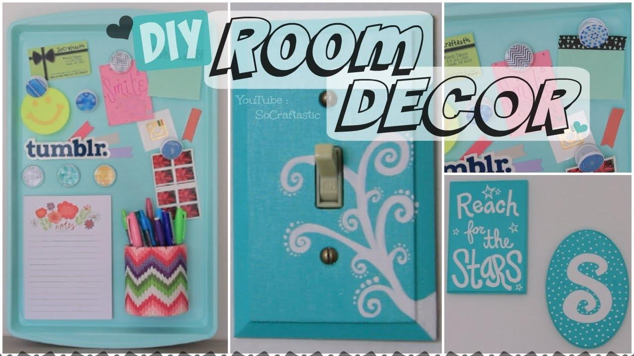 Diy Room Decor Wall Art Magnetic Memo Board