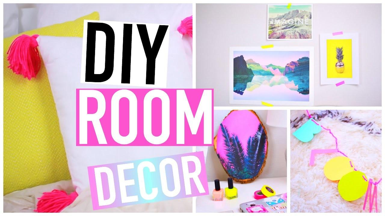 Diy Room Decorations Spring Tumblr Inspired