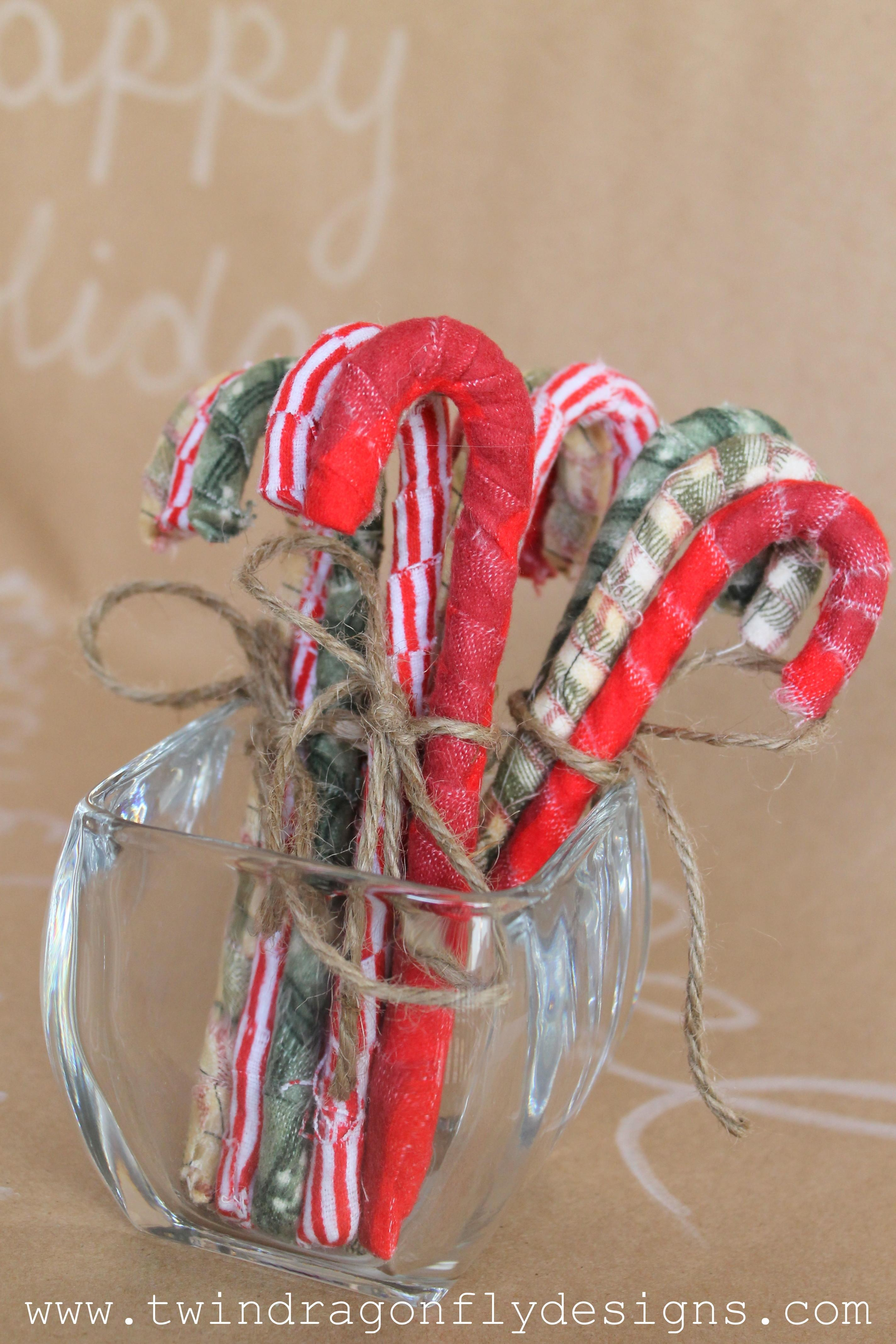 Diy Rustic Candy Canes Dragonfly Designs