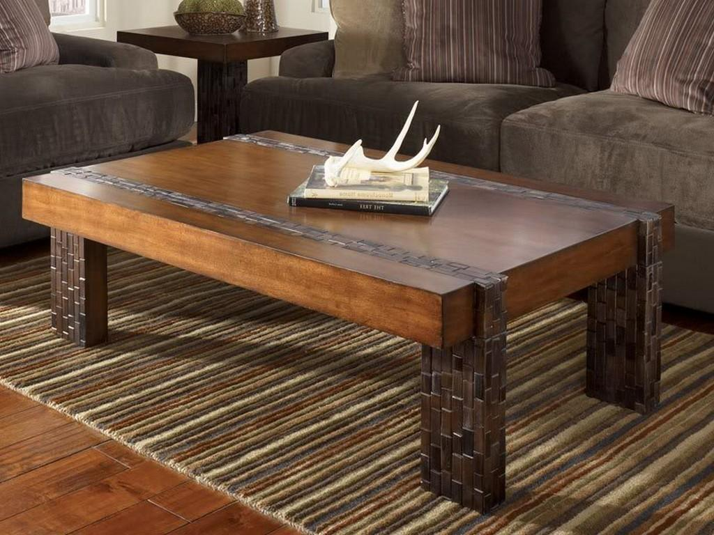 Diy Rustic Coffee Tables Minimalist Living Room