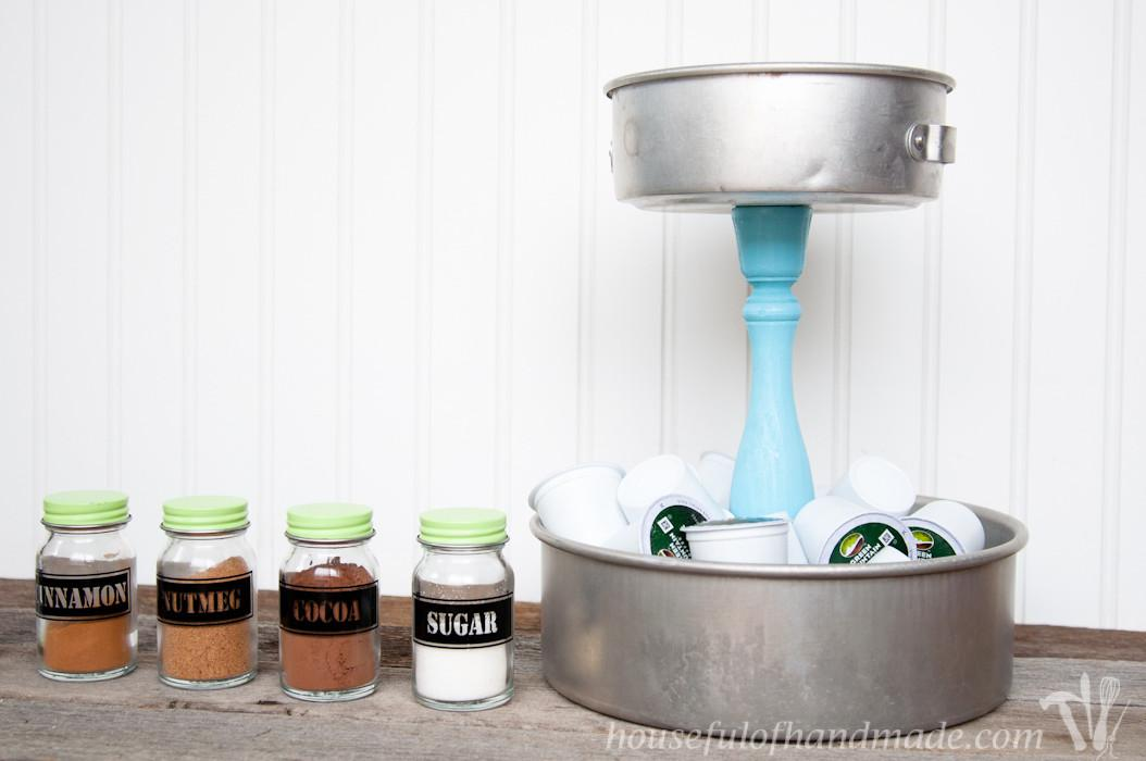 Diy Rustic Cup Holder Spice Shakers Houseful