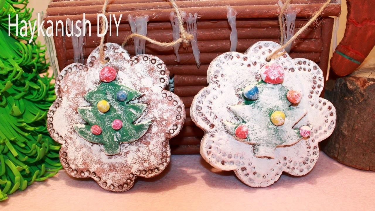 Diy Salt Dough Christmas Ornaments Make