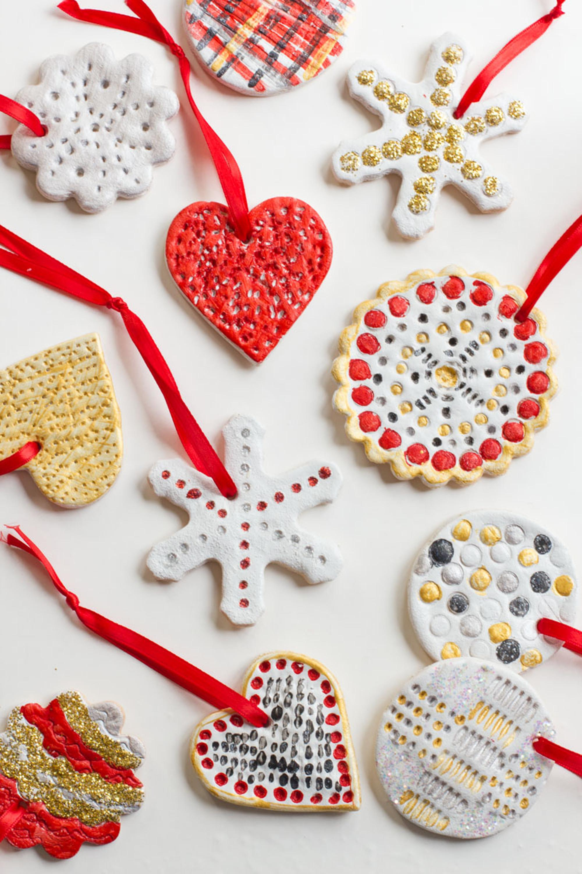 Diy Salt Dough Ornament Ideas Make