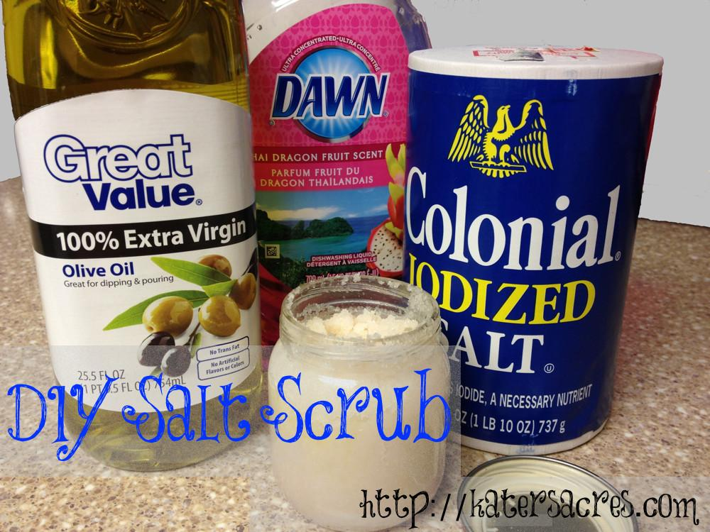 Diy Salt Scrub Wash Your Hands After Using Polymer Clay