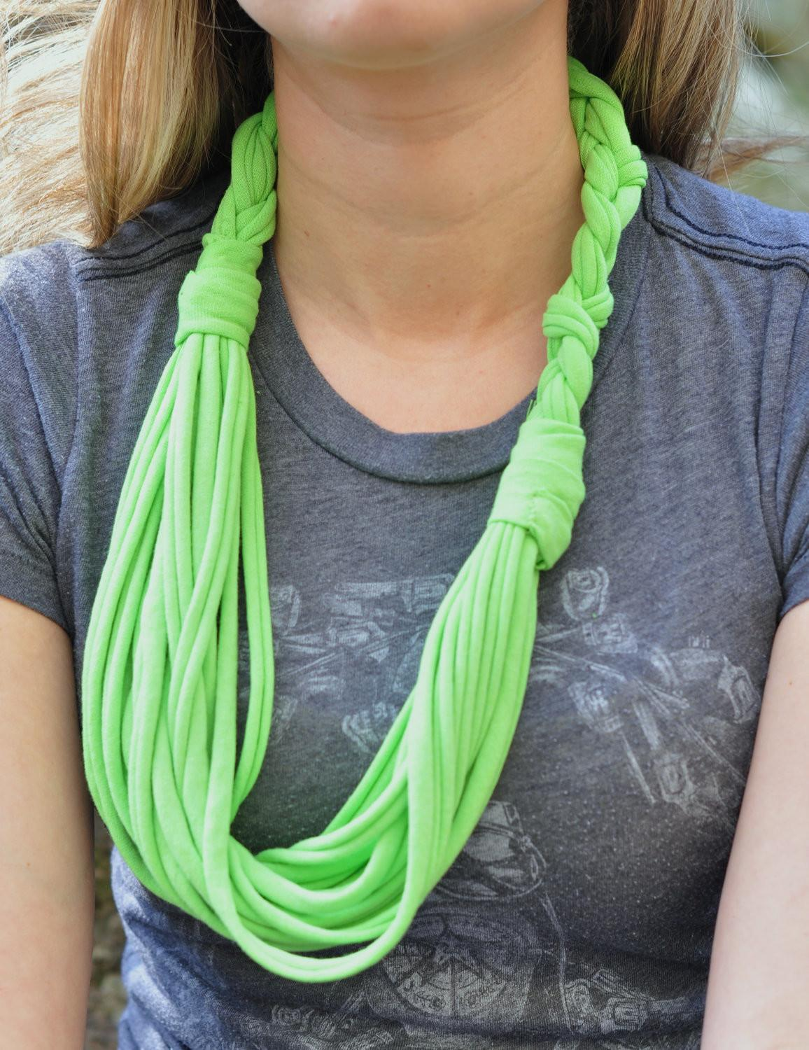 Diy Scarves Look Fashionable Your Spring Walk