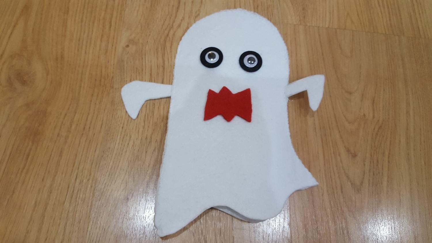 Diy Scary Ghost Hand Puppet Keeping Real