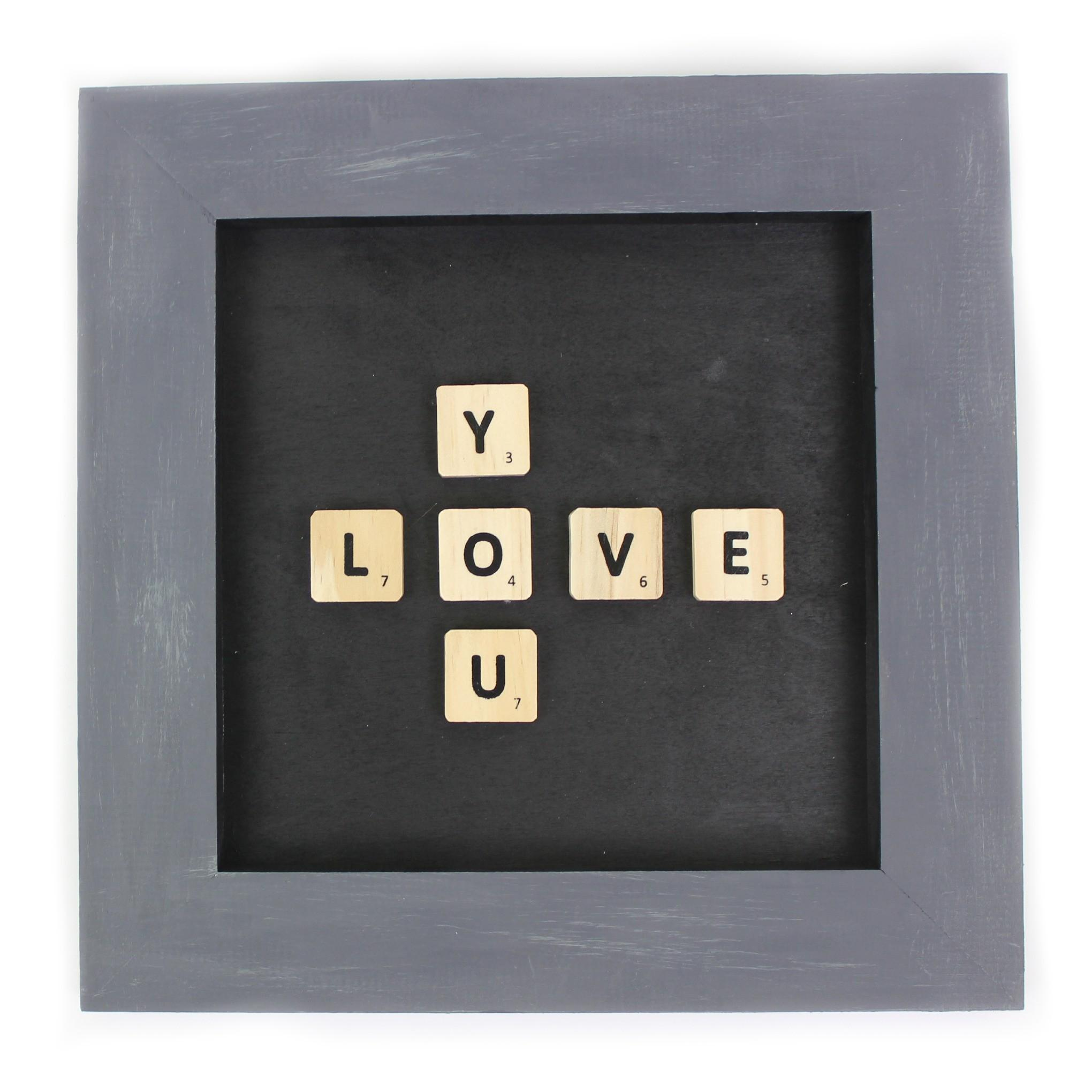 Diy Scrabble Tile Wall Decor Little Craft Your Day