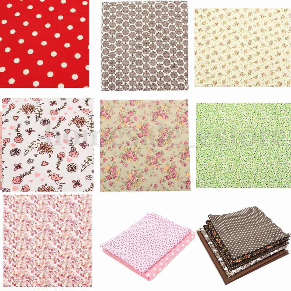 Diy Sewing Craft Remnants Vintage Fabric Cloth