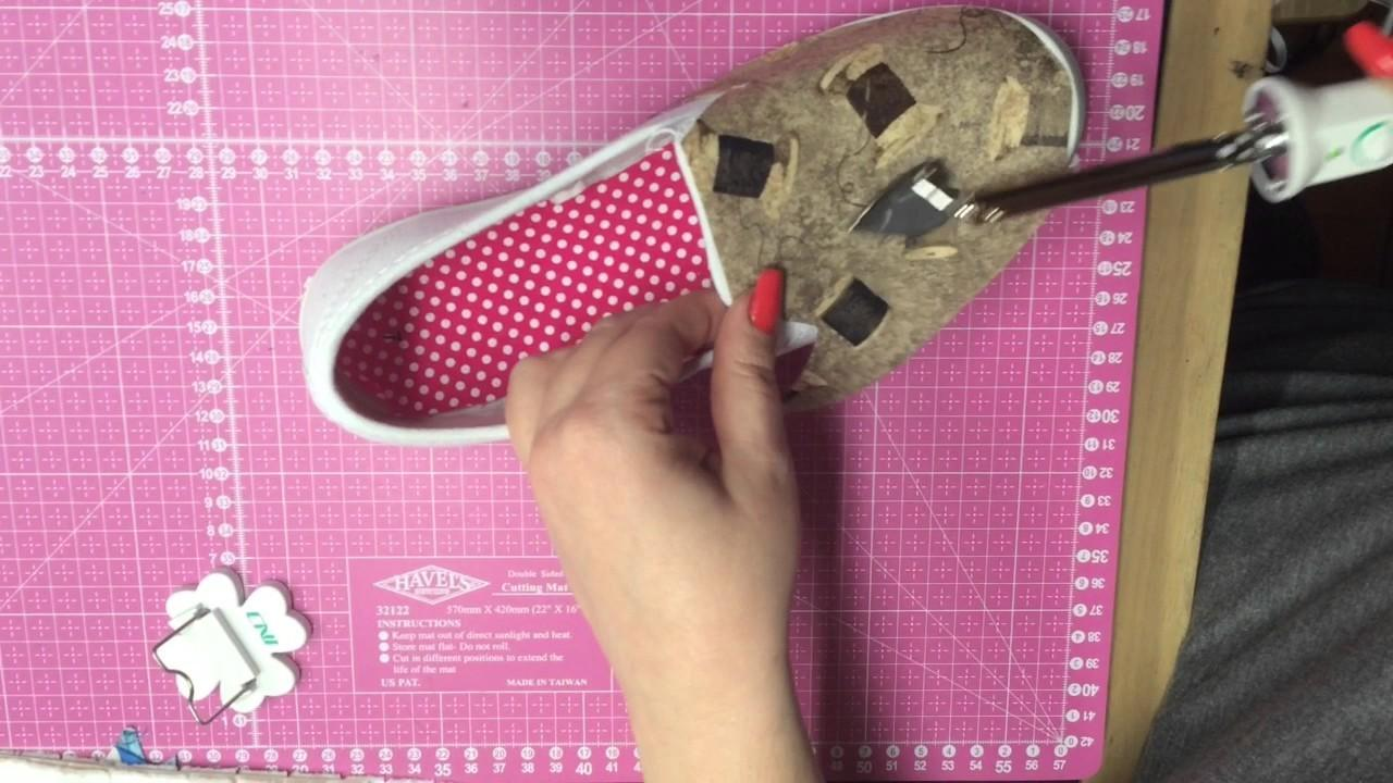 Diy Sewing Themed Shoes Crafts Projects