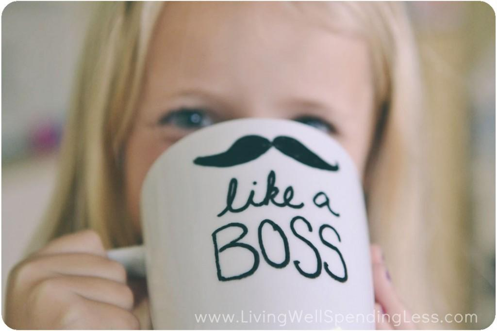 Diy Sharpie Mugs Painted