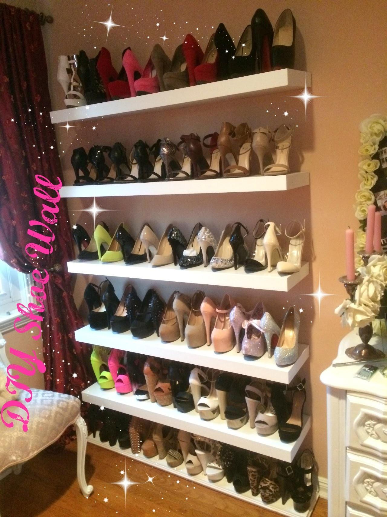 Diy Shoe Wall Loversiq