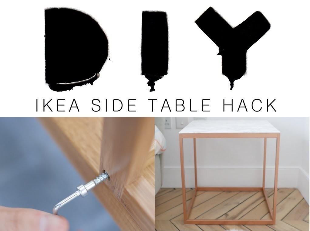 Diy Side Table Hack Everyday Est