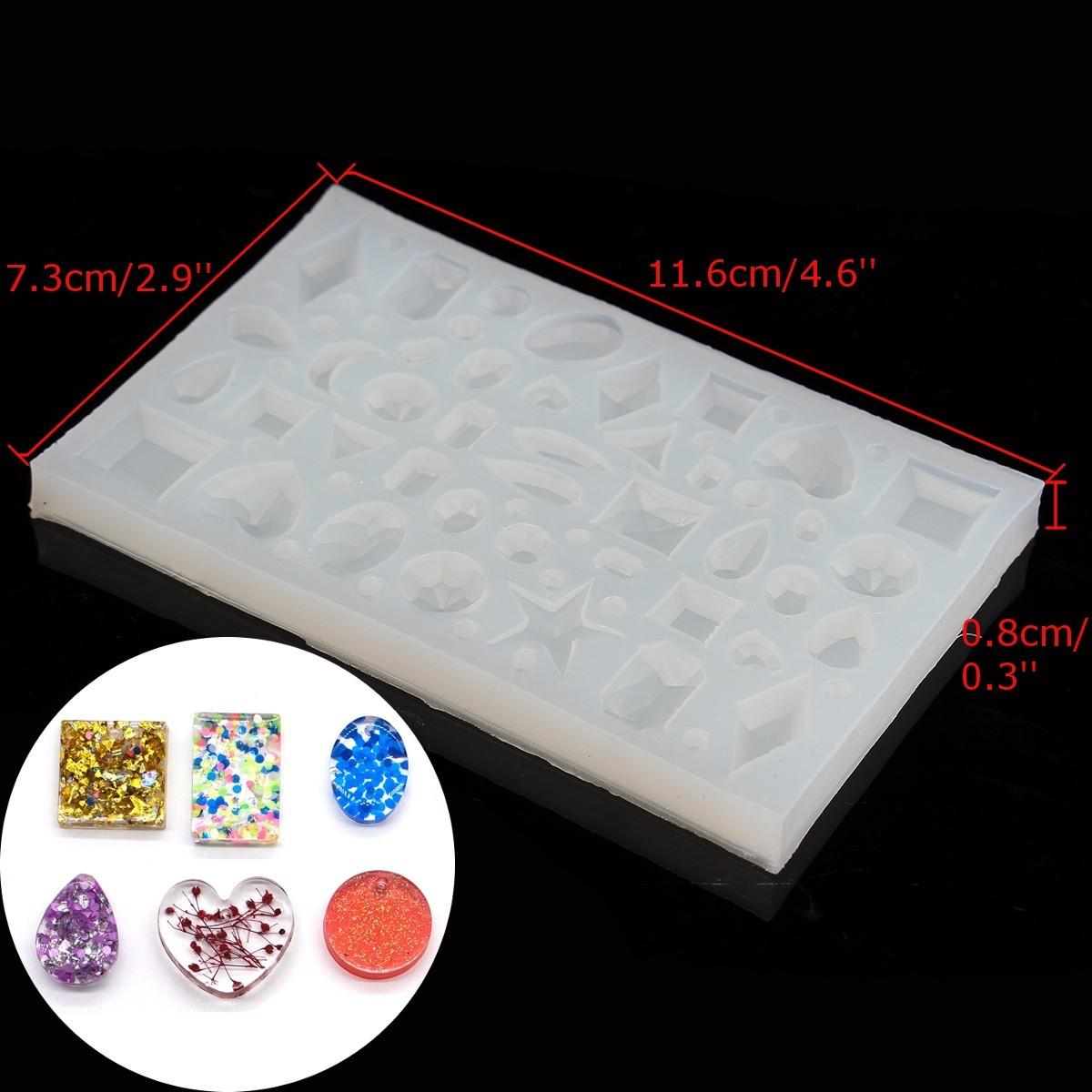 Diy Silicone Pendant Mold Making Jewelry Resin