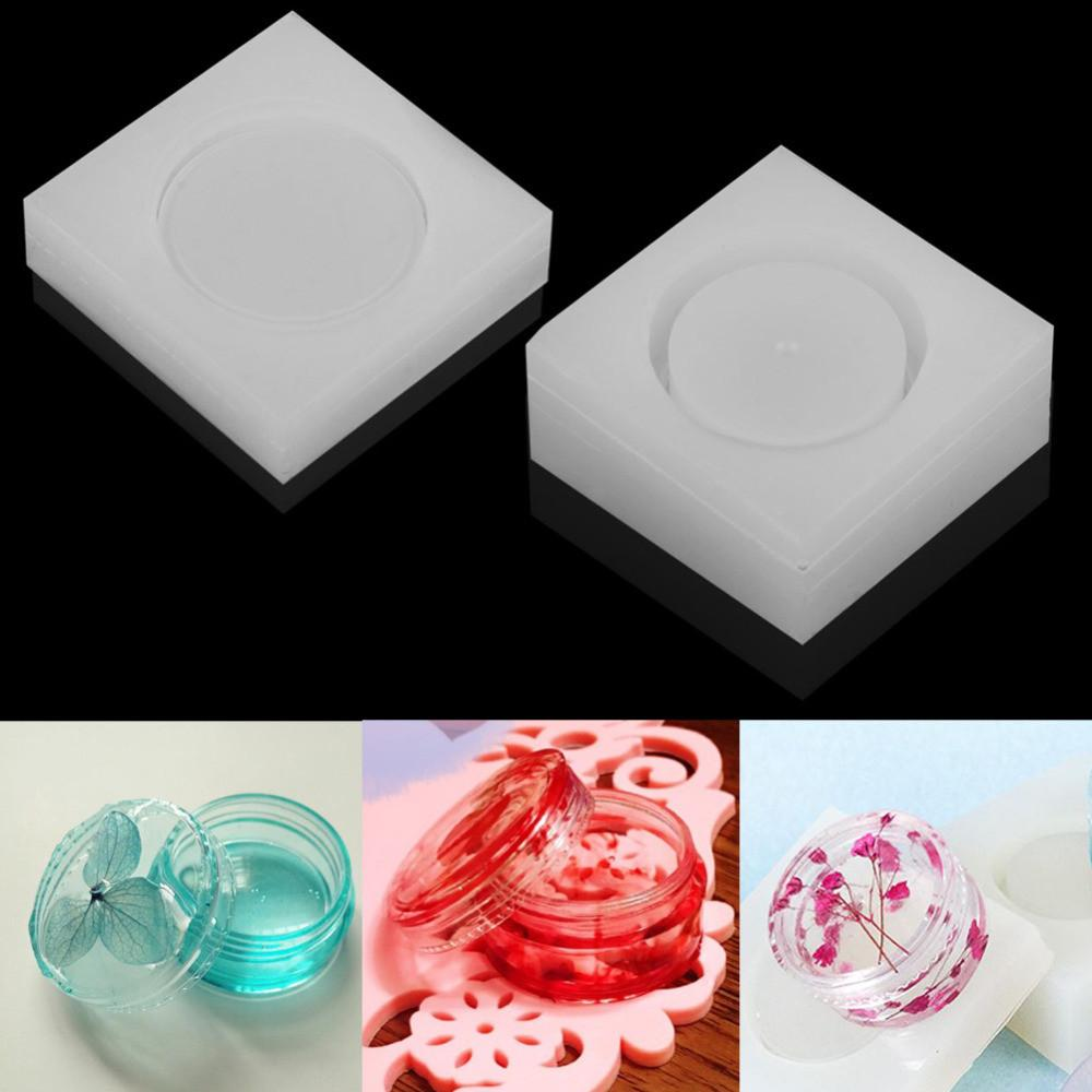 Diy Silicone Storage Box Mold Epoxy Resin Casting Jewelry