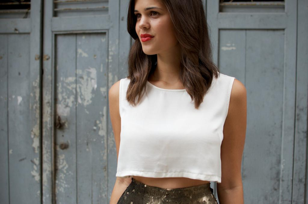 Diy Silk Crop Top Geneva Vanderzeil Pair