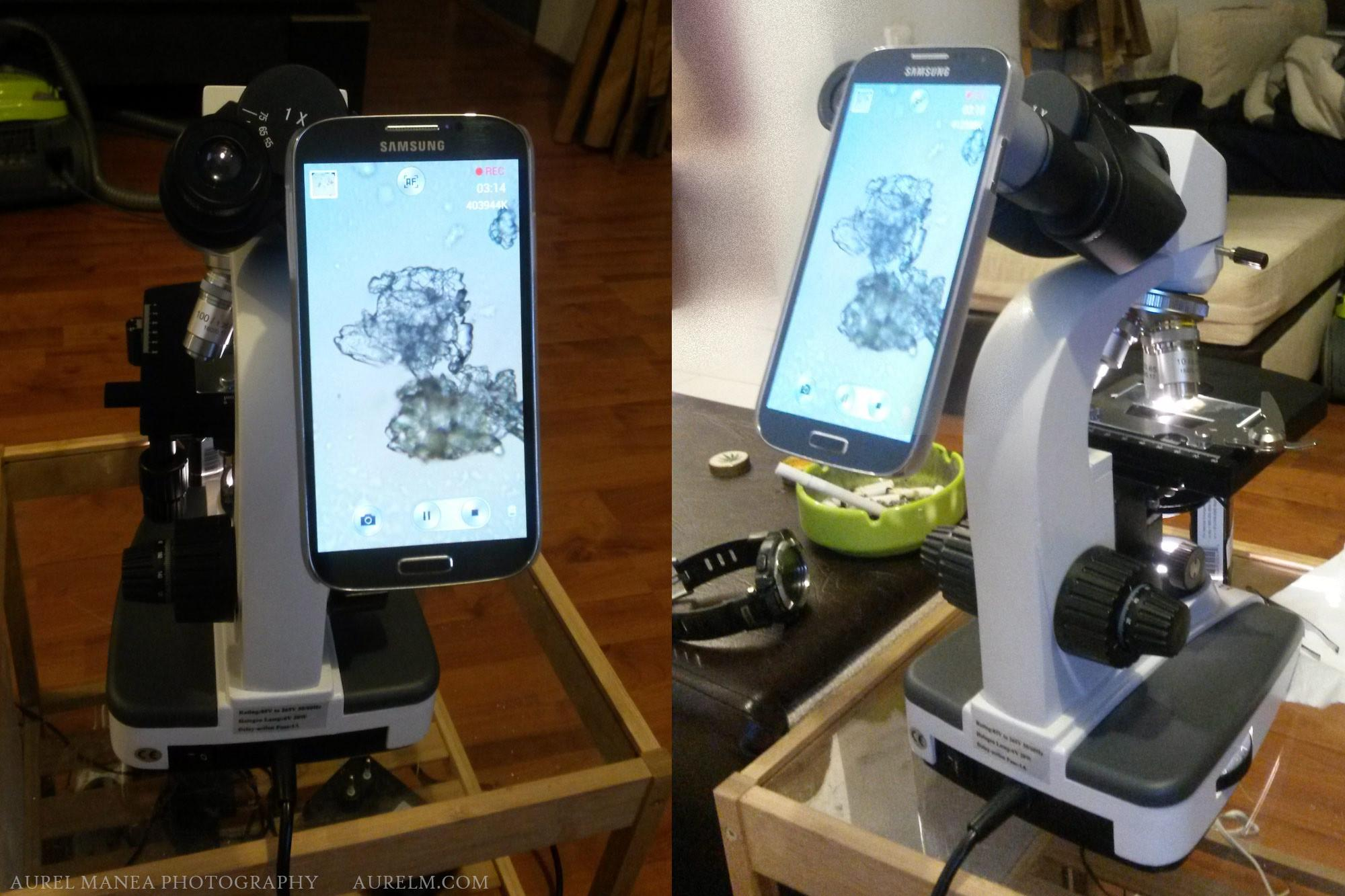 Diy Smartphone Adapter Microscope Photography