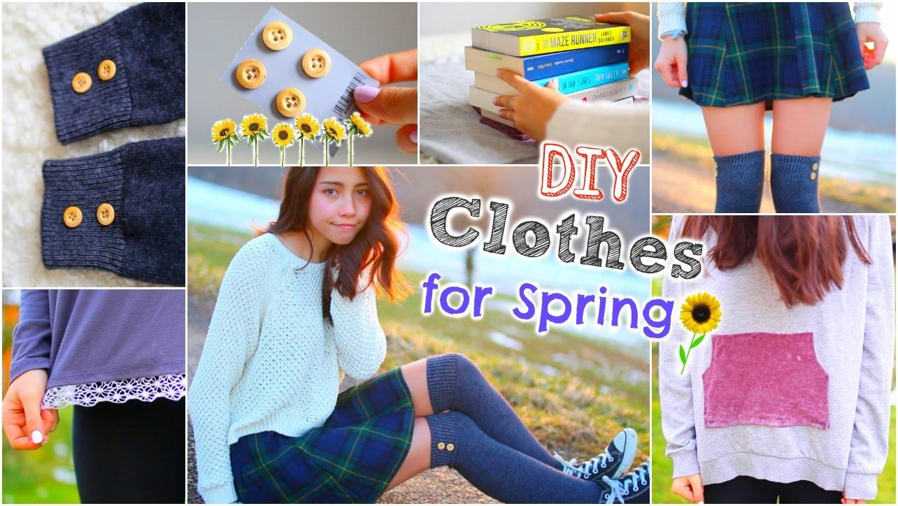 Diy Spring Clothes Inspired