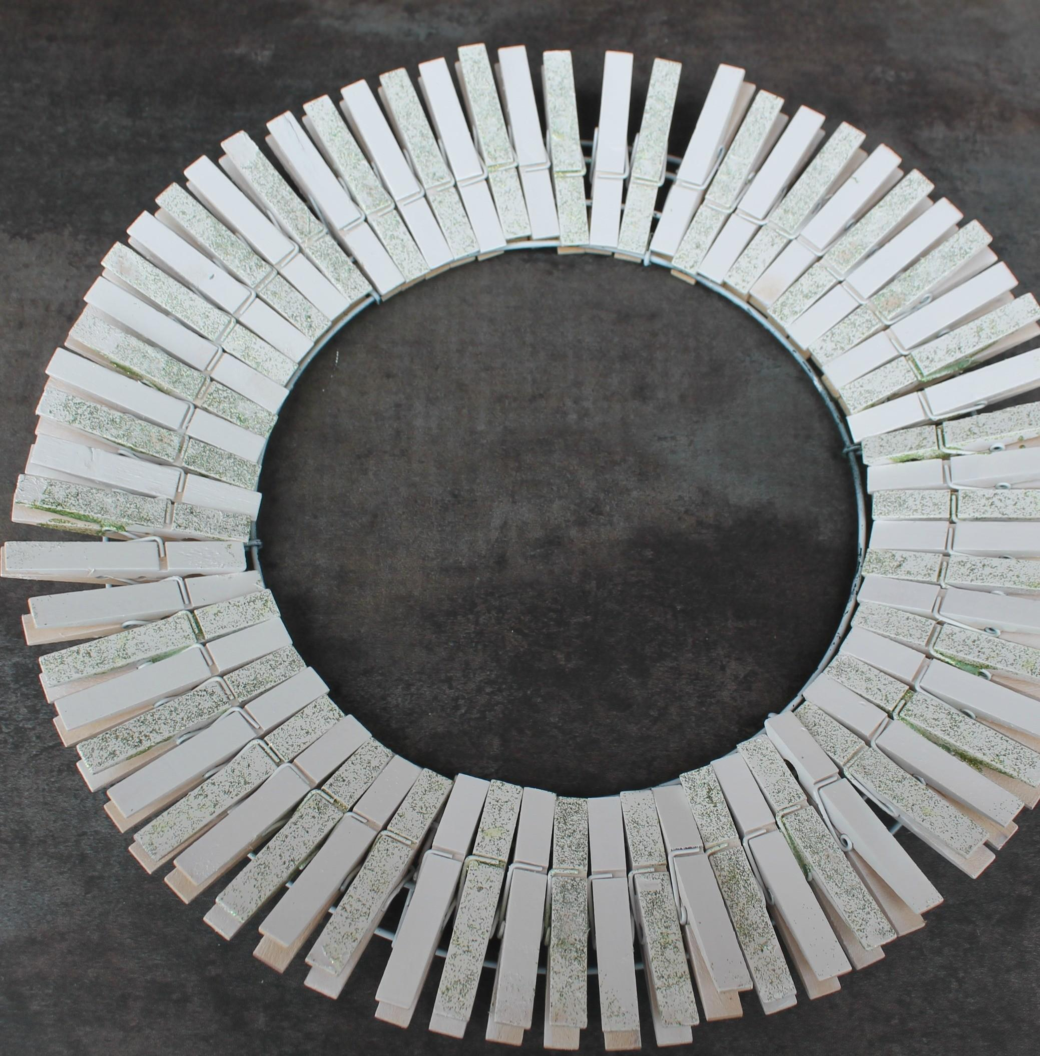 Diy Spring Clothespin Wreath Simply Southern Mom