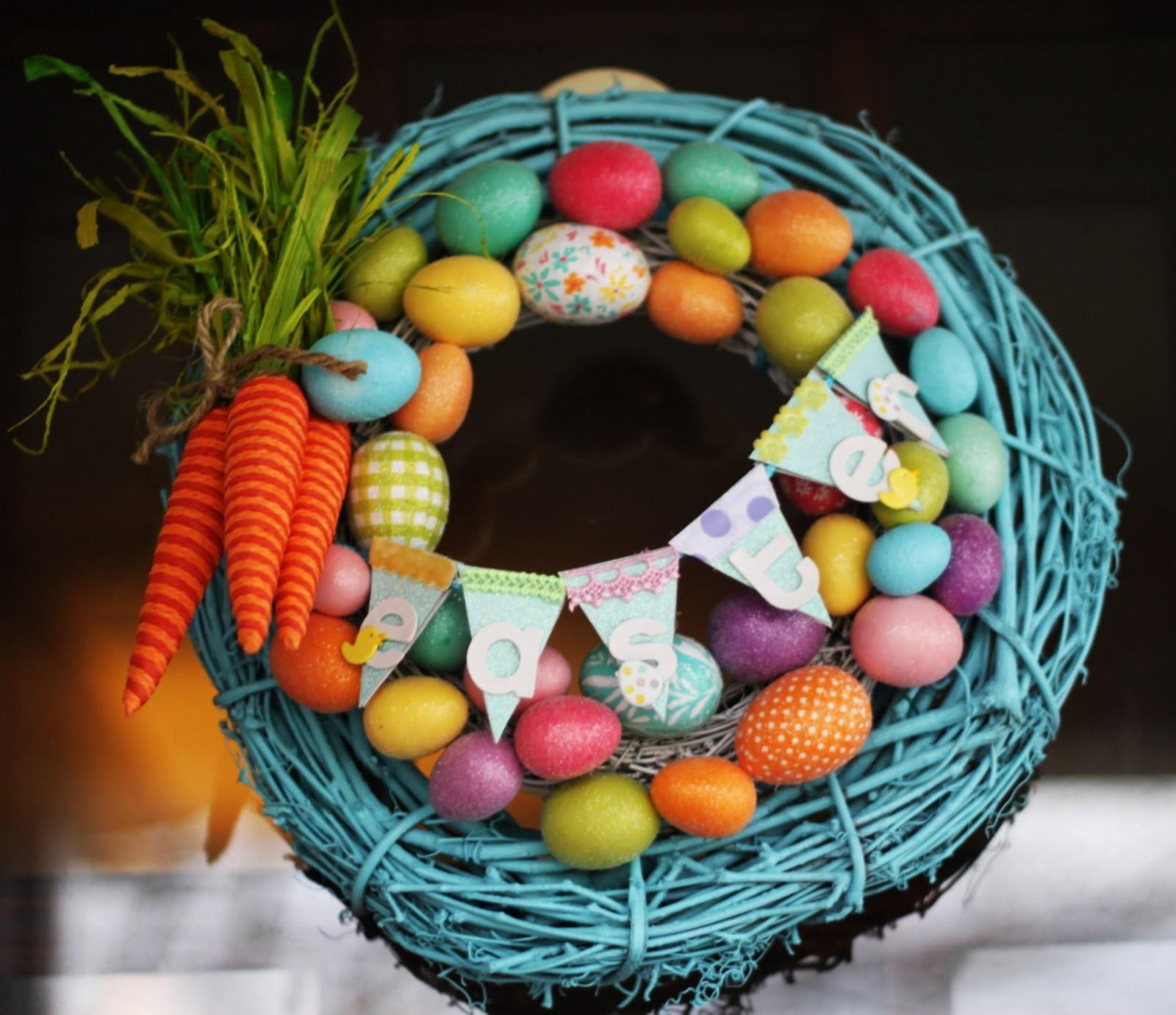 Diy Spring Easter Wreaths