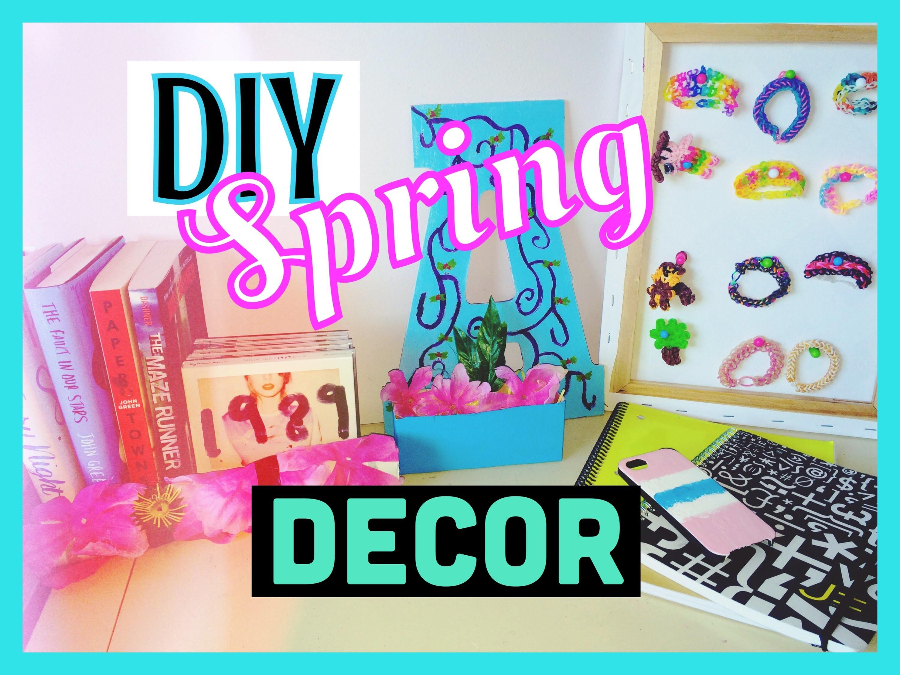 Diy Spring Room Decor 2015 Ideas
