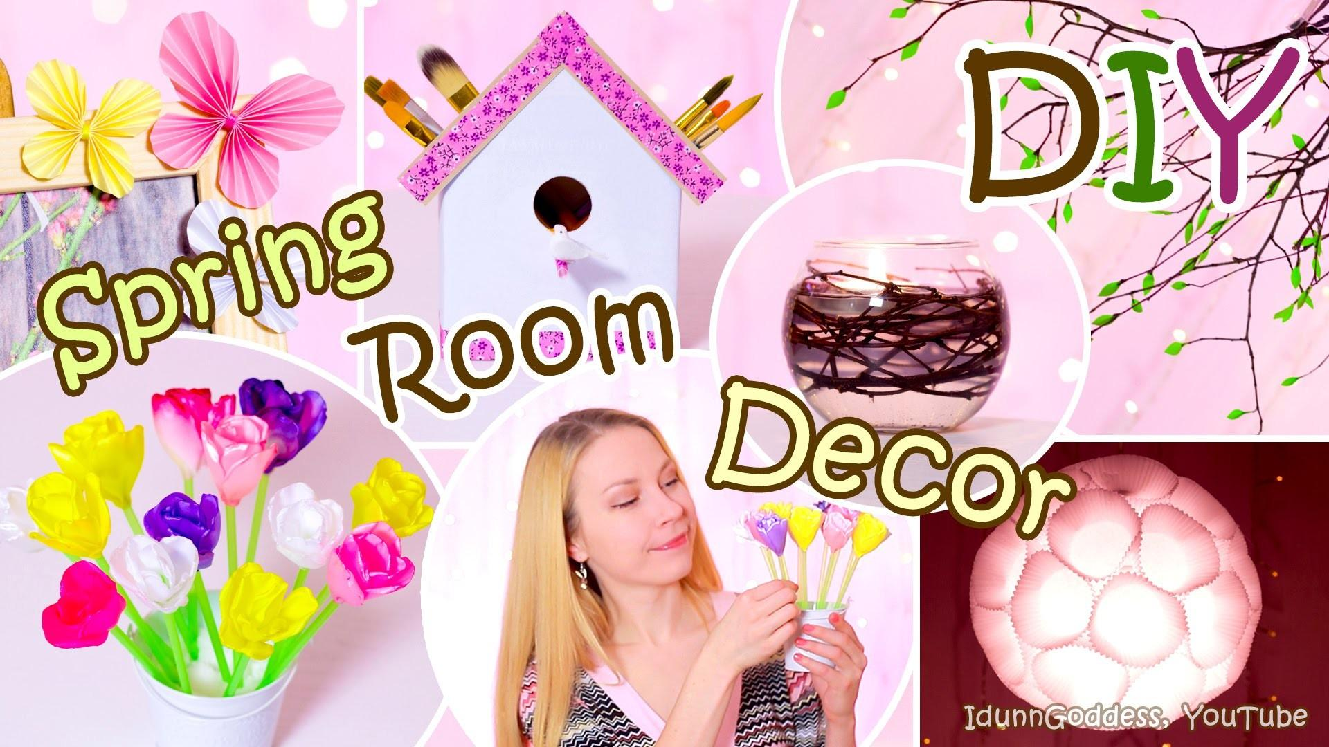 Diy Spring Room Decor Ideas Easy Decorations