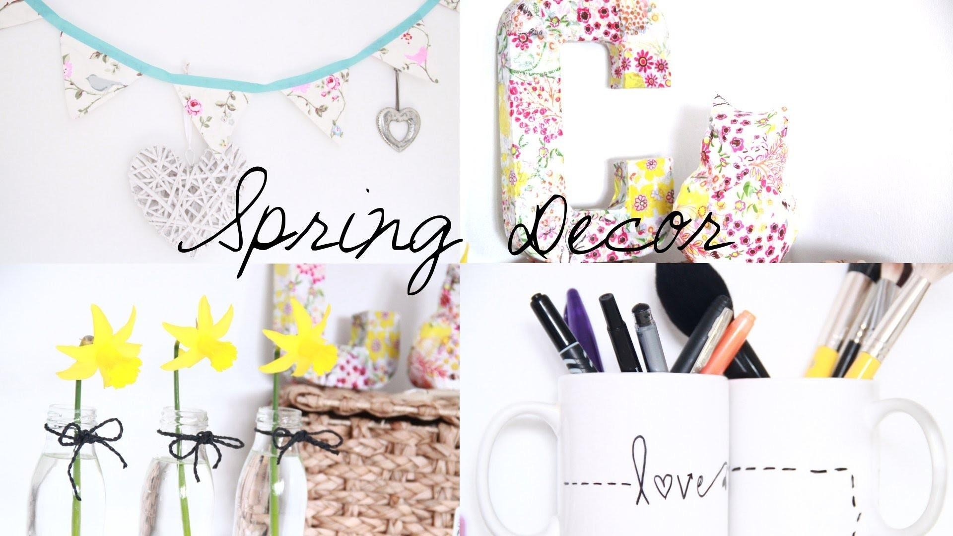 Diy Spring Room Decor Inspiration
