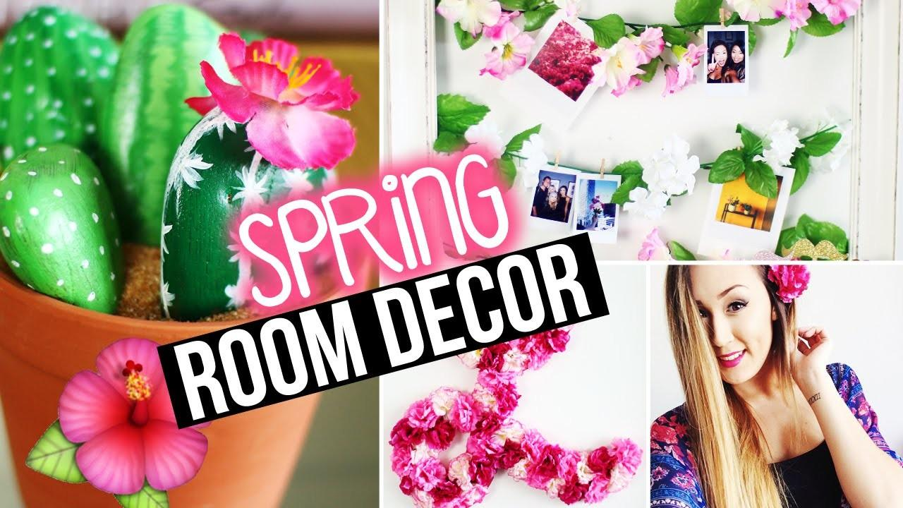 Diy Spring Room Decor Wall Tumblr Inspired