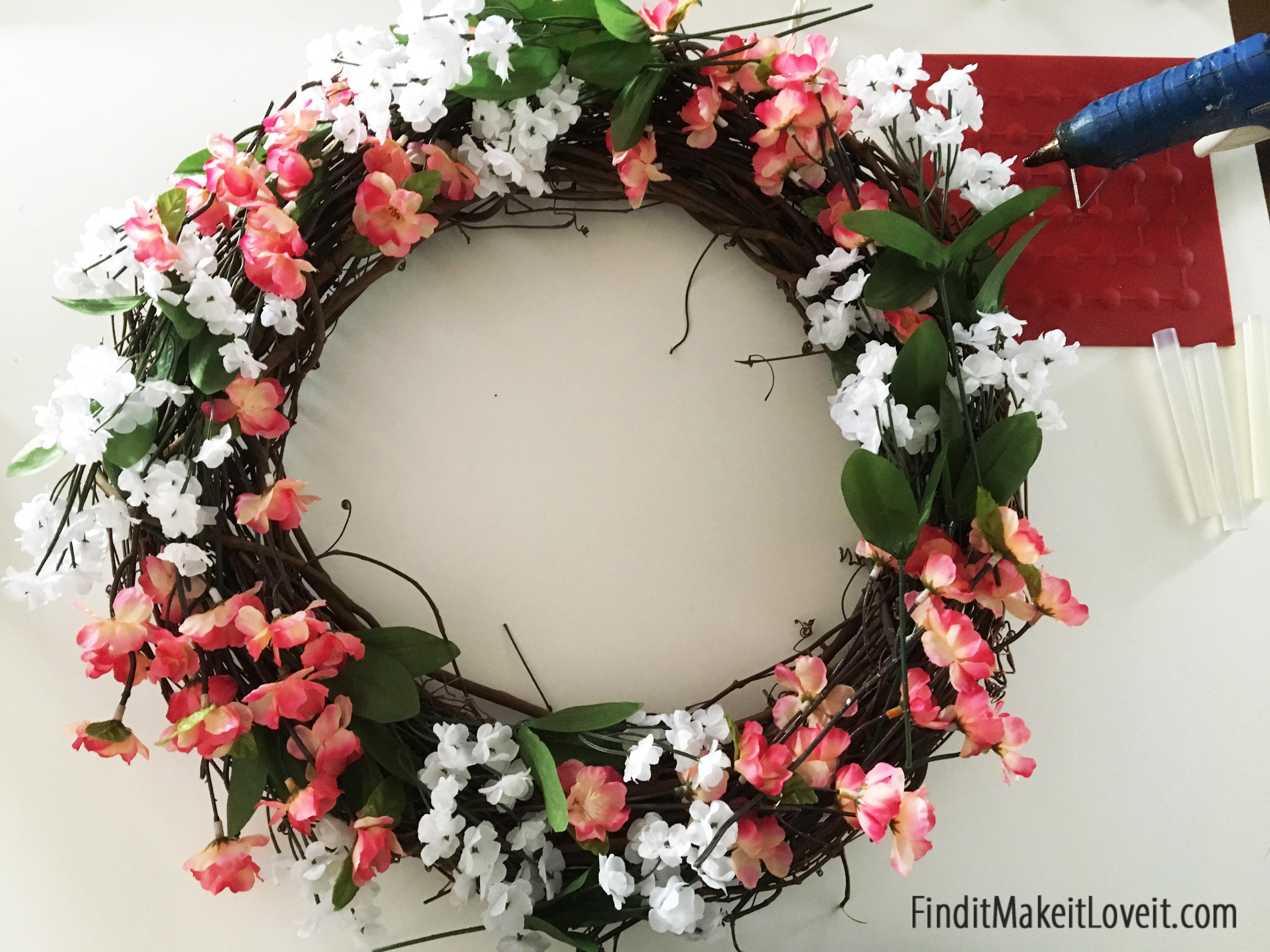 Diy Spring Wreath Find Make Love