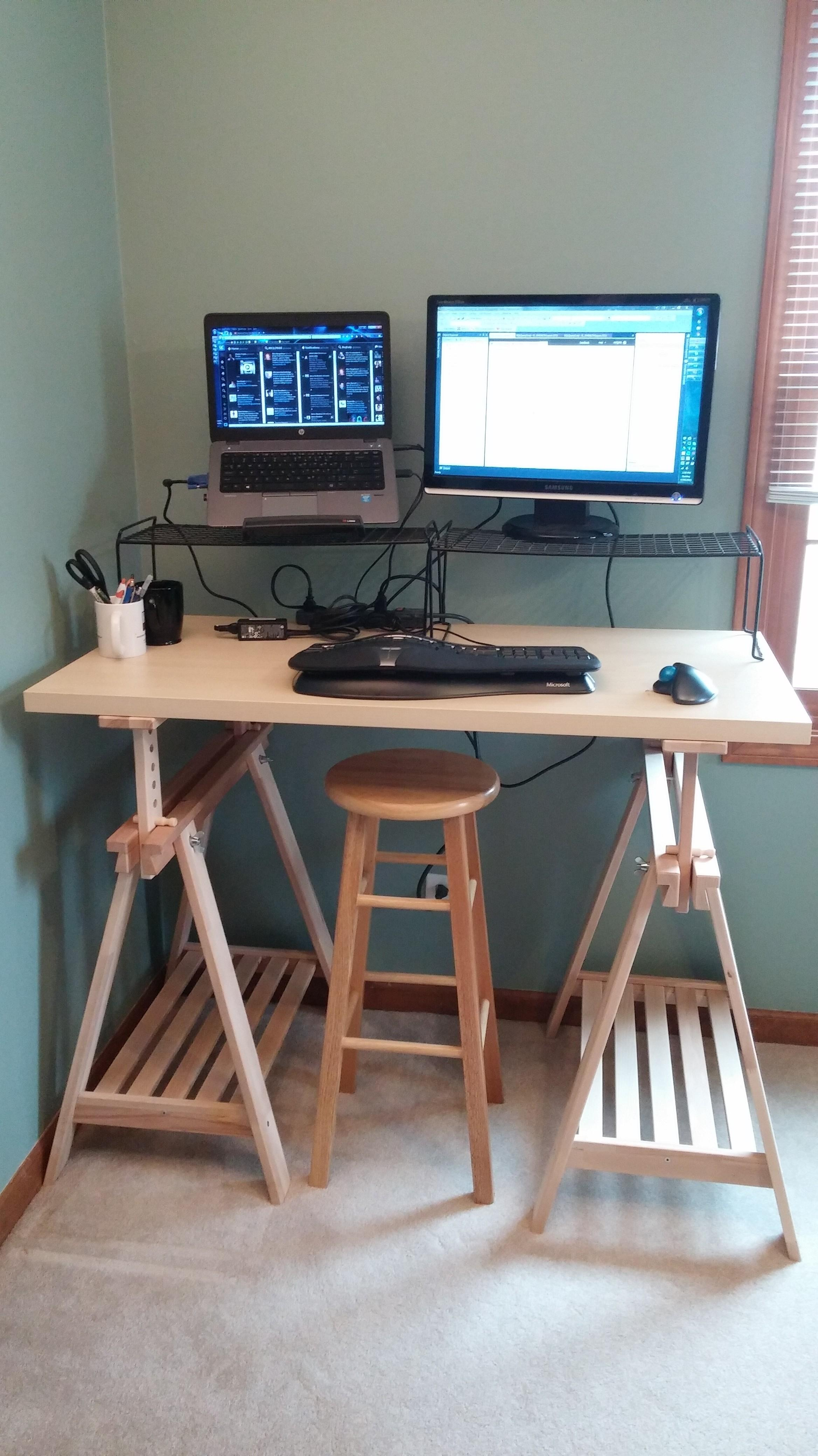 Diy Standing Desk Every Byte Counts