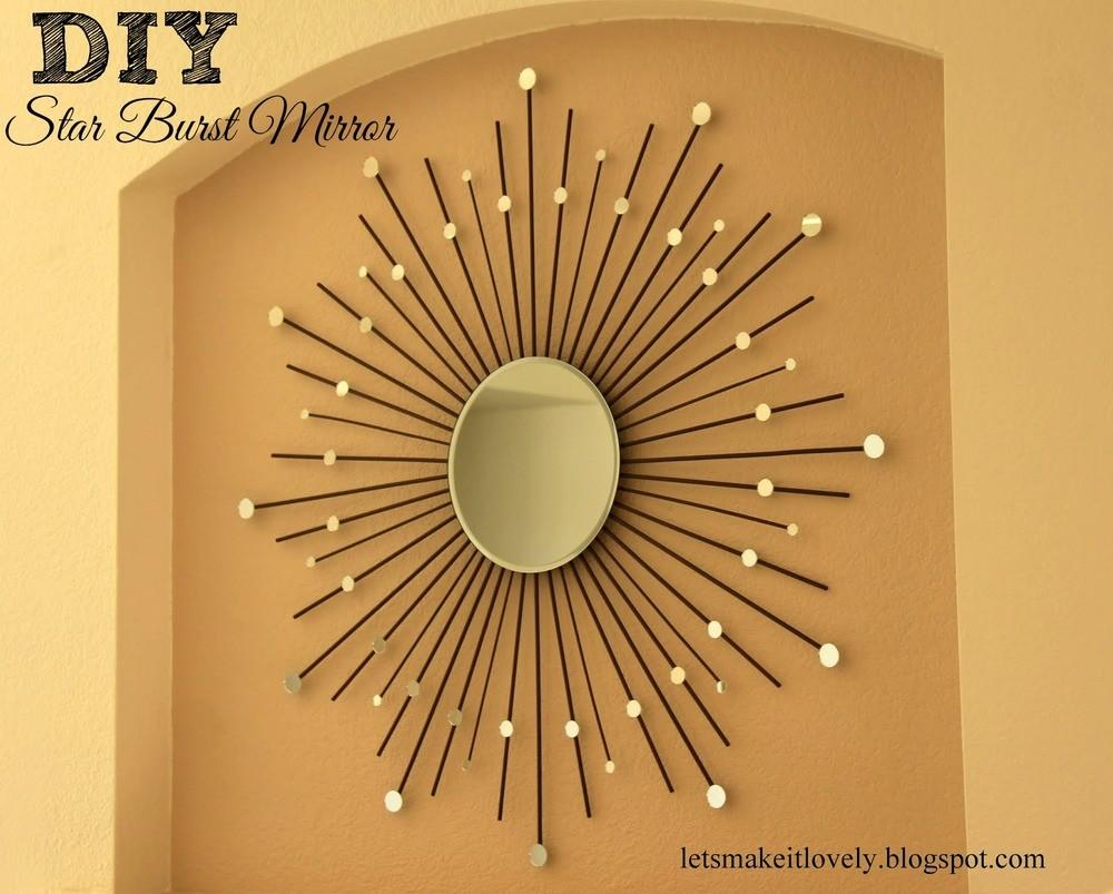 Diy Starburst Mirror Favecrafts