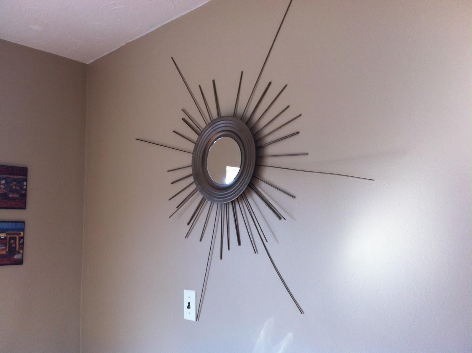 Diy Starburst Mirror Tutorial Home Owner Wannabe