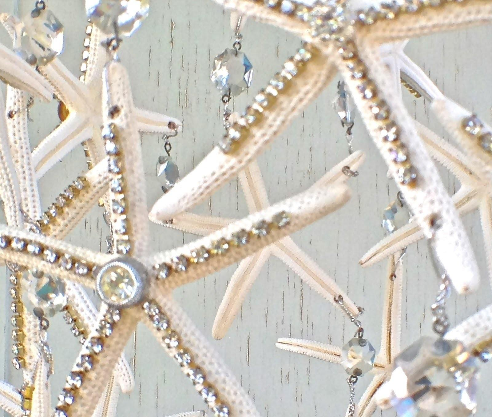 Diy Starfish Rhinestone Chandelier