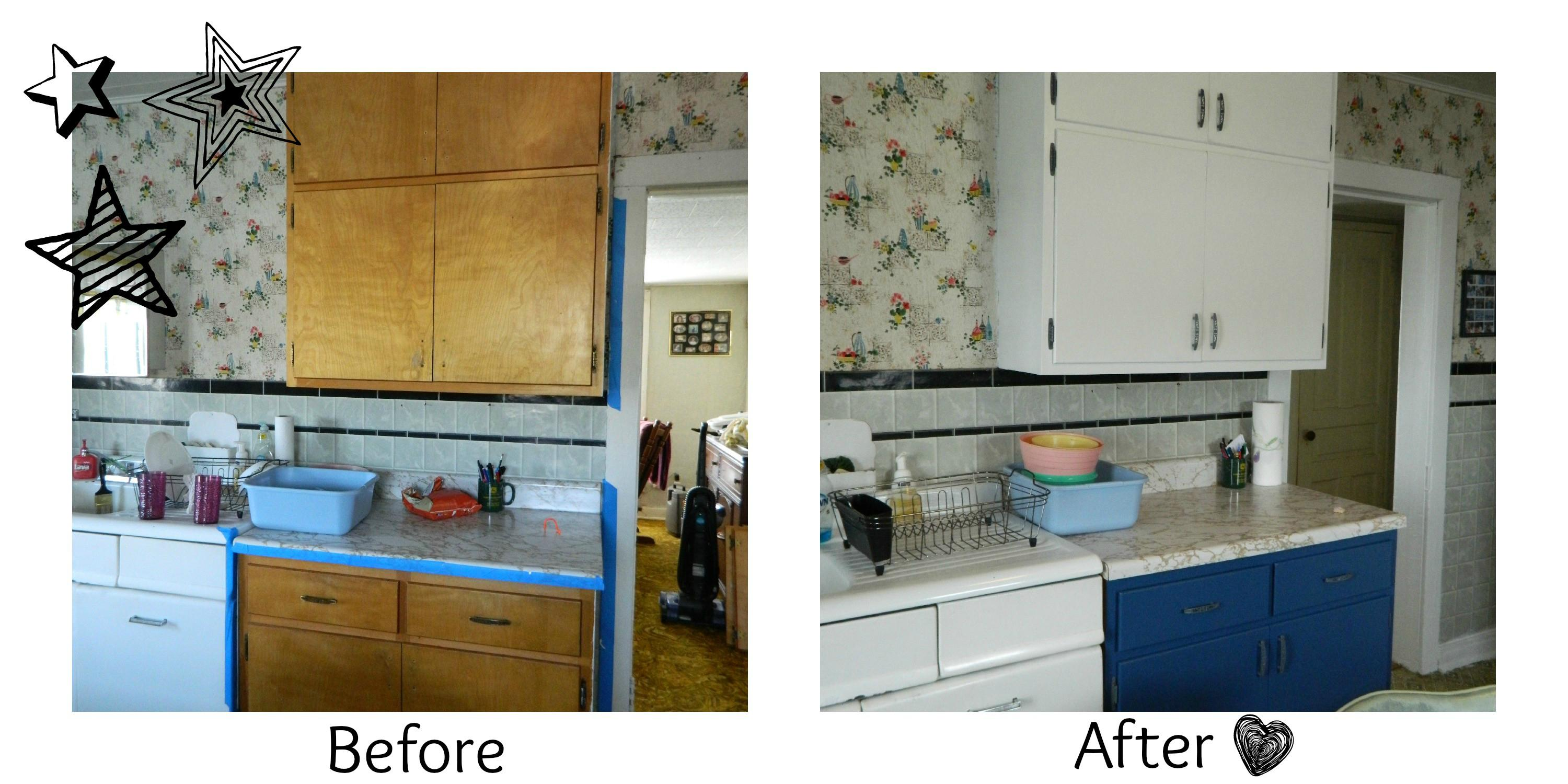 Diy Steps Painted Kitchen Cabinets