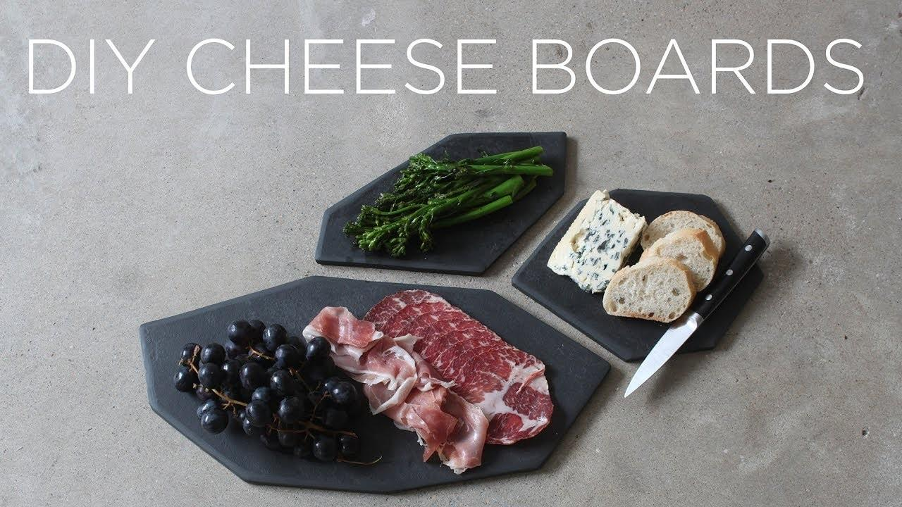 Diy Stone Cheese Boards