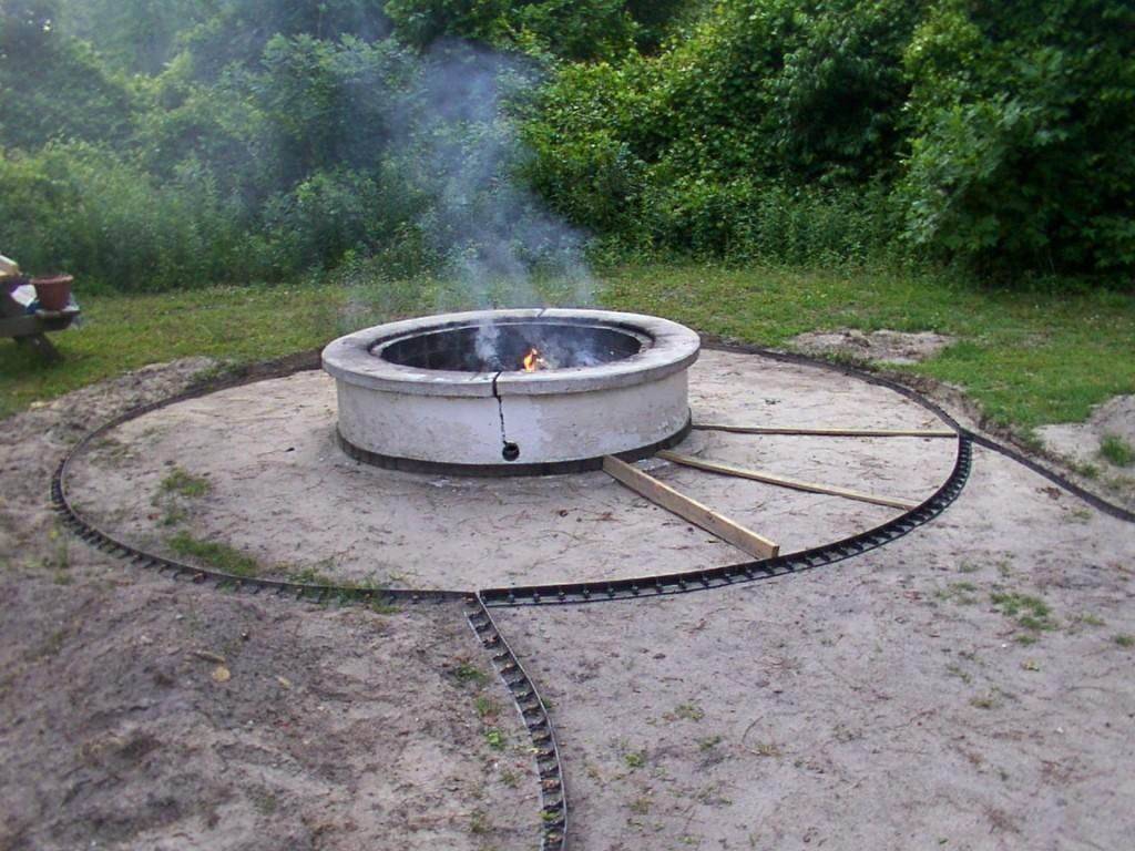 Diy Stone Fire Pit Patio Ideas Inspiration