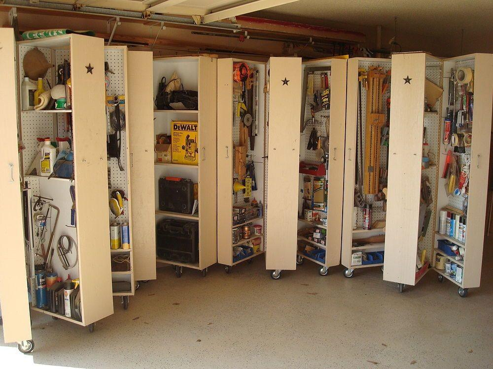 Diy Storage Solutions Well Organized Garage