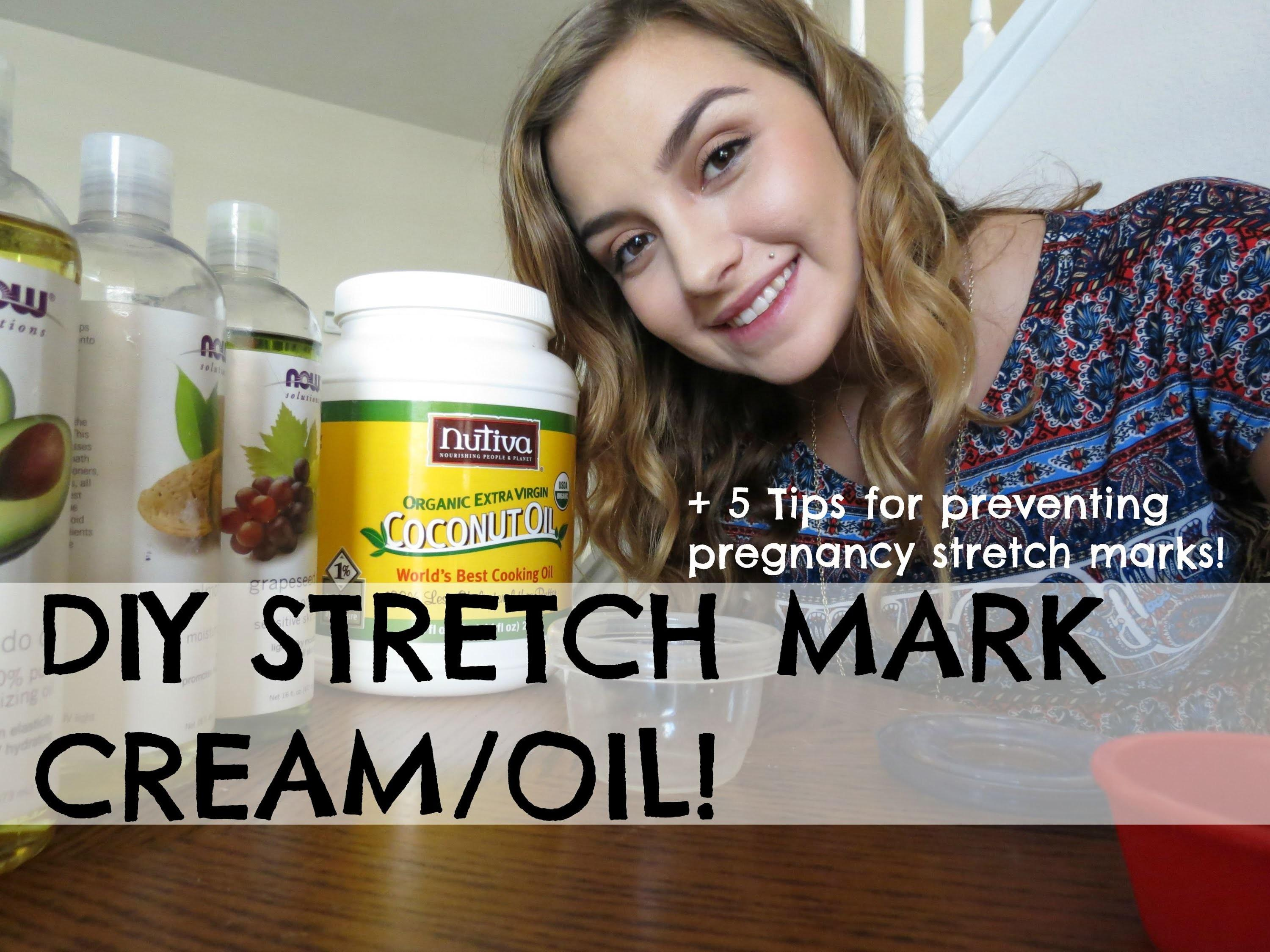 Diy Stretch Mark Cream Oil Tips Preventing