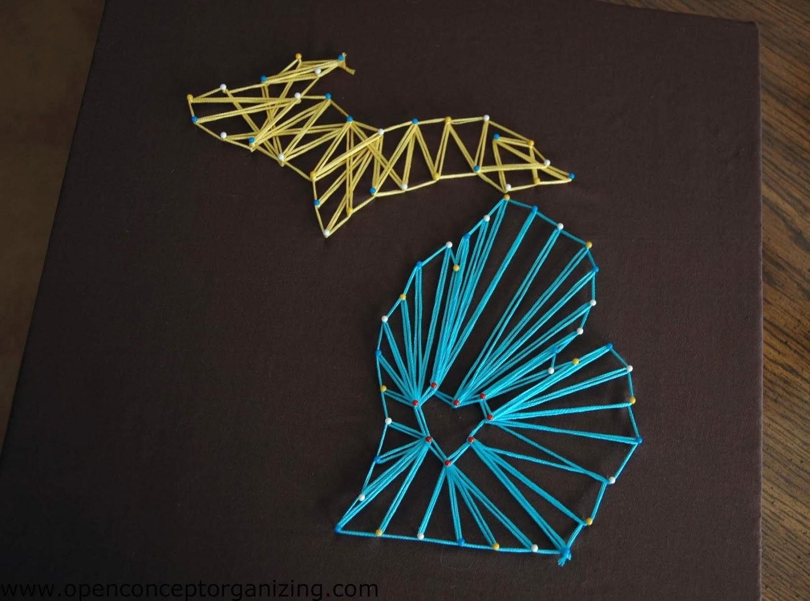 Diy String Art Patterns Guide