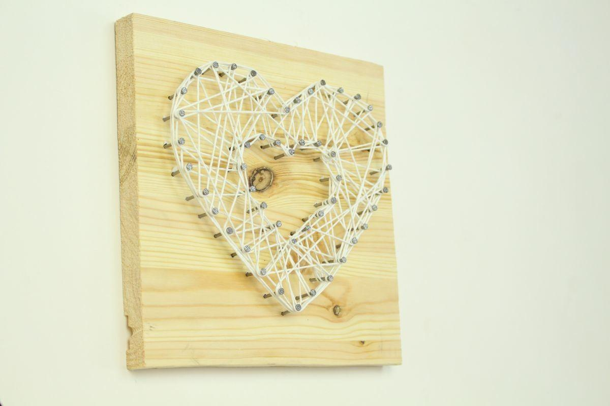 Diy String Art Wall Piece