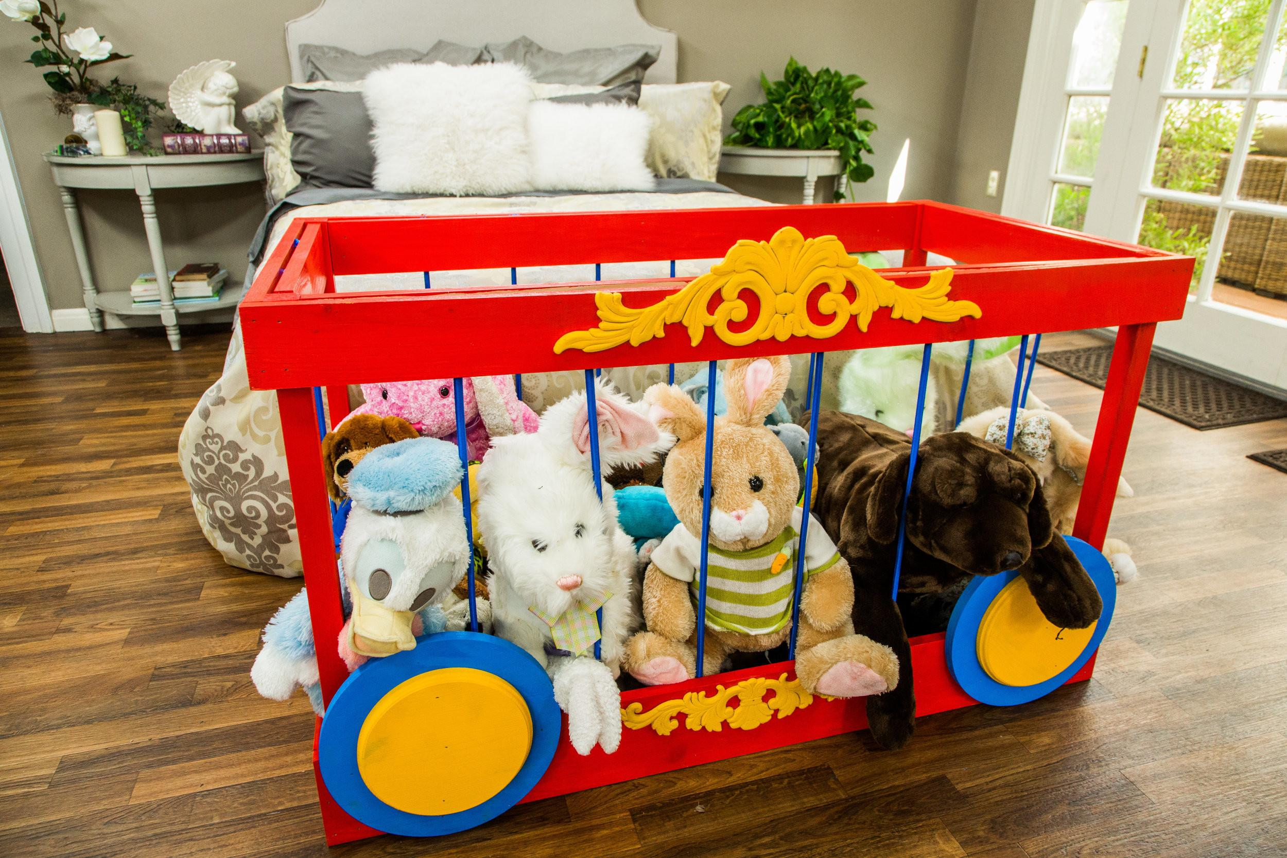 Diy Stuffed Animal Storage Home Family