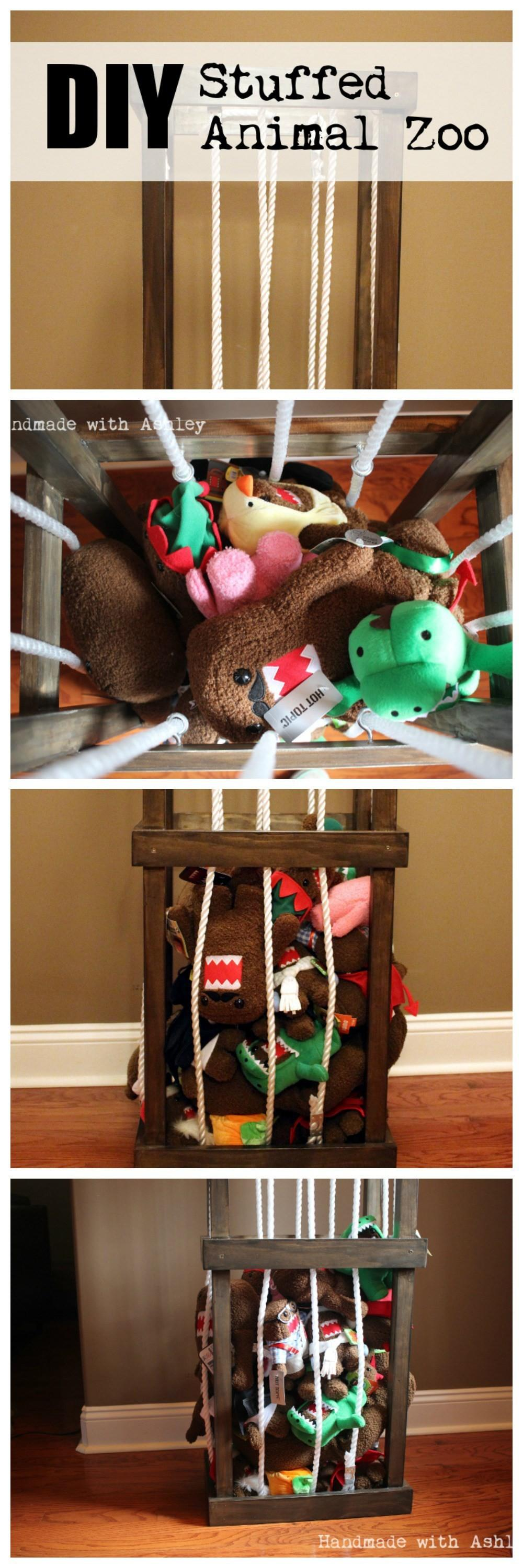 Diy Stuffed Animal Storage Plans Ana White Handmade