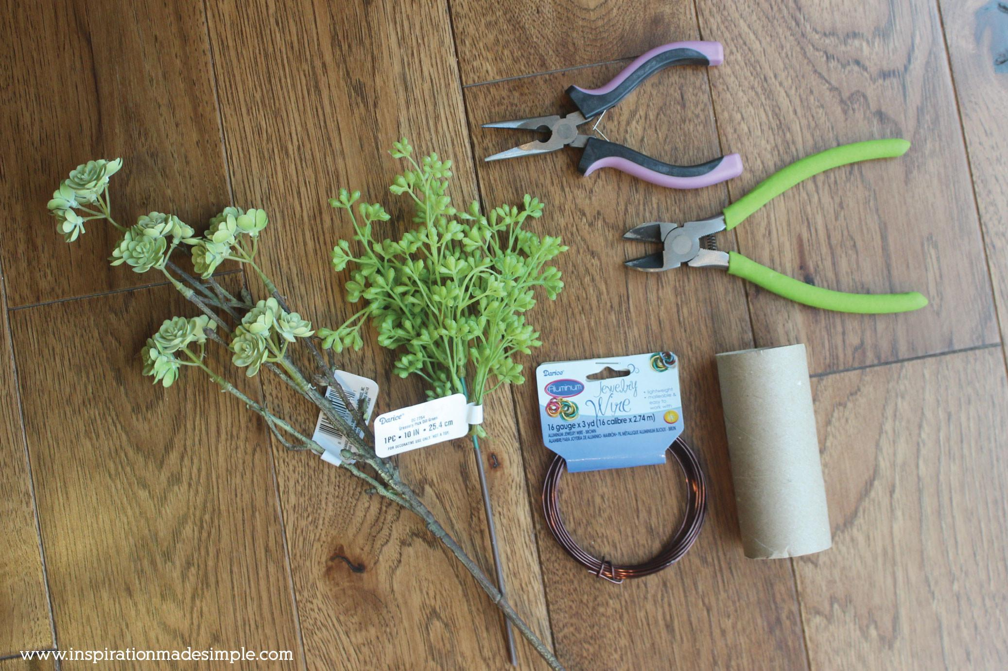Diy Succulent Napkin Rings Inspiration Made Simple