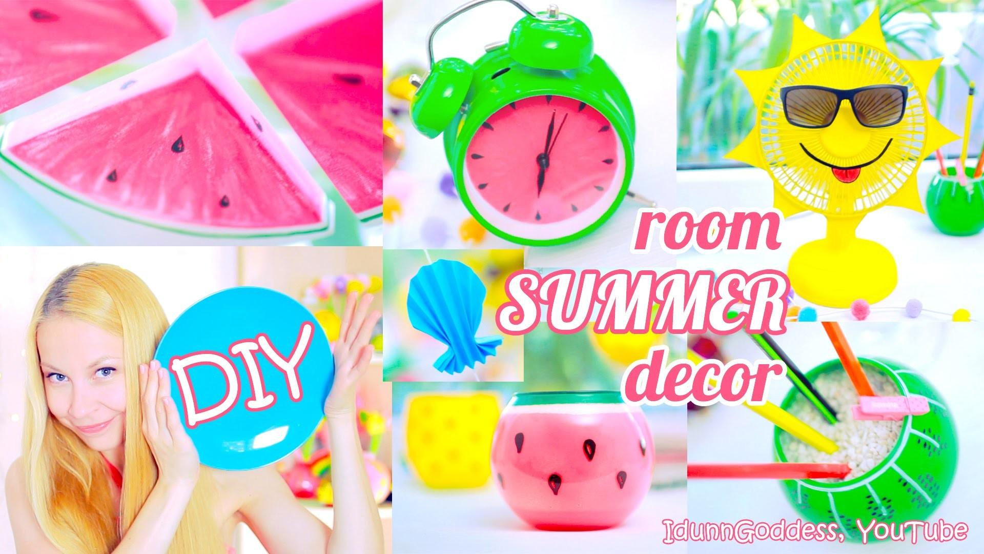 Diy Summer Room Decor Ideas Bright Colorful