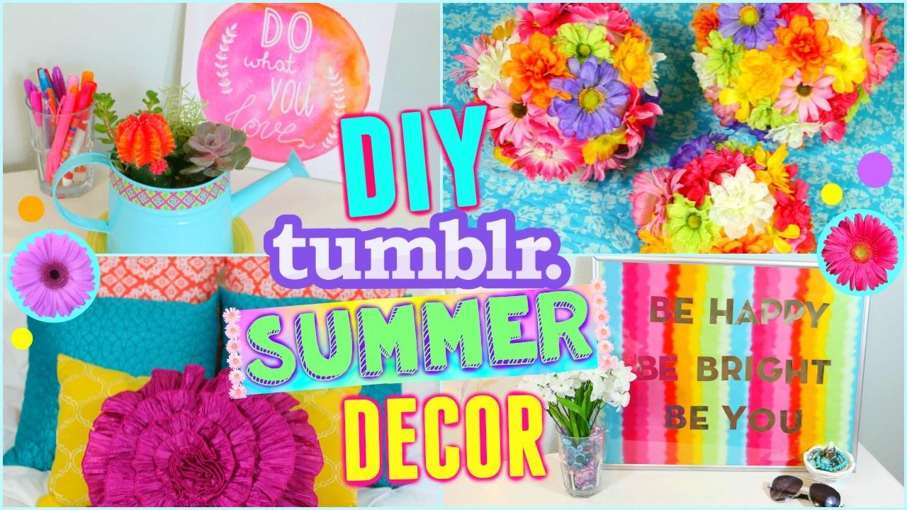 Diy Summer Room Decor Ideas Make Your Cute